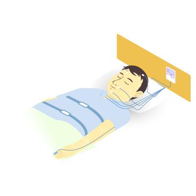 睡眠時無呼吸症候群の検査